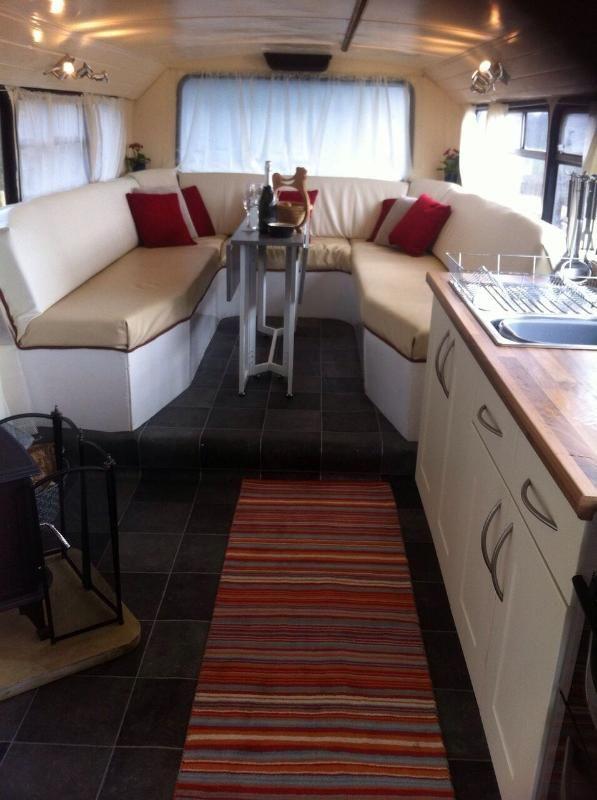 Converted double decker house bus
