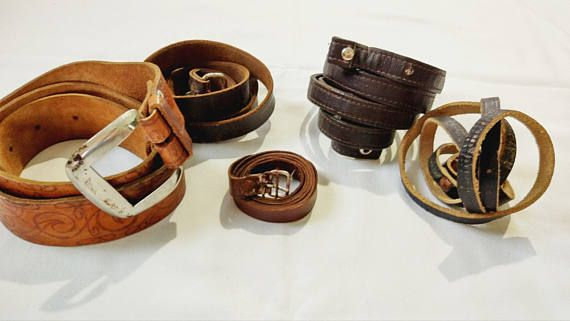 Accessories  Belts & Suspenders  Belts  vintage leather belt  boho belt  gift for him  belt for men  made in USSR leather belt  soviet army  antique belt  army belt  soviet belt  vintage belt  old belt  brown belt