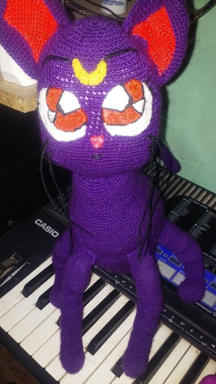 Por mi hija!! Experimentando animé,me encanta tejer!!!