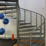 Large spiral staircase supplied for a Leisure centre.
