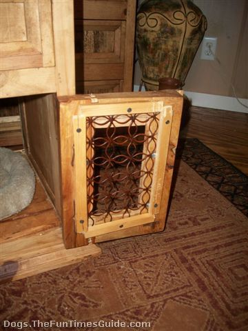 How I Made A Dog Crate Table For My Dachshund From An Old Piece Of Furniture Part 74