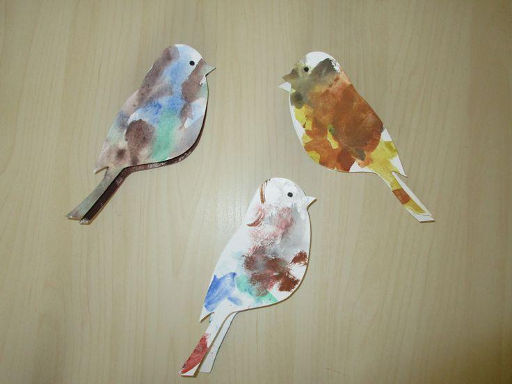 Ptáčci na kolíčku