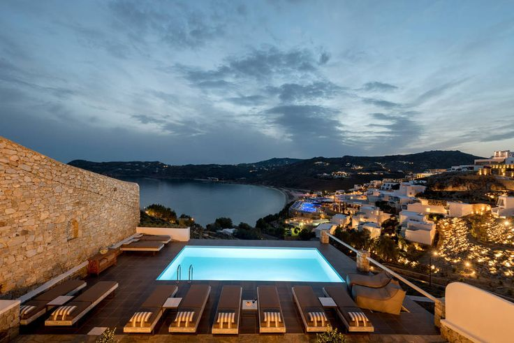 Apartment in Mikonos, Greece. All rooms & suites are facing panoramically the sea and Elia beach like swinging.  Unparalleled comfort and incredible attention to detail is what you will experience from the moment you arrive at . Based on Mykonian architecture, we proudly provi...