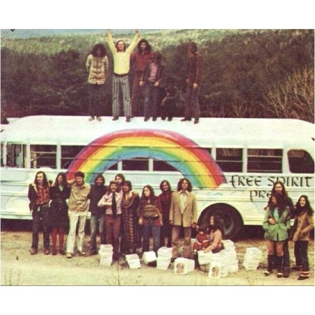 ☮ American Hippie Lifestyle ☮