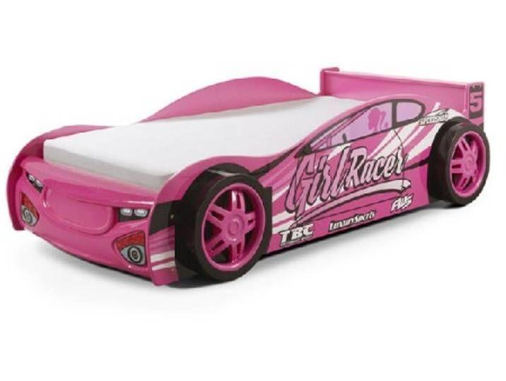 Autobett Auto Kinderbett 90x200 Madchen Rosa Girl Speedy In 2020