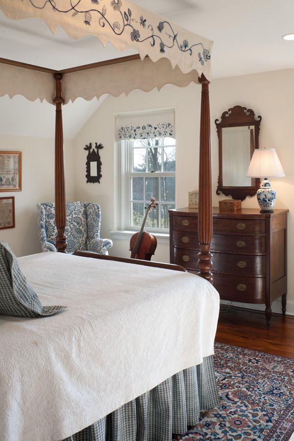 A first floor guest room flooded with light and beautiful views.
