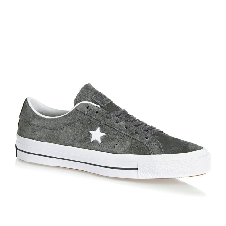 62,39€ Surfdome Converse Trainers - Converse One Star Shoes - Thunder Grey