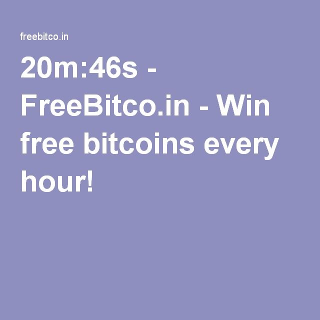 20m:46s - FreeBitco.in - Win free bitcoins every hour!