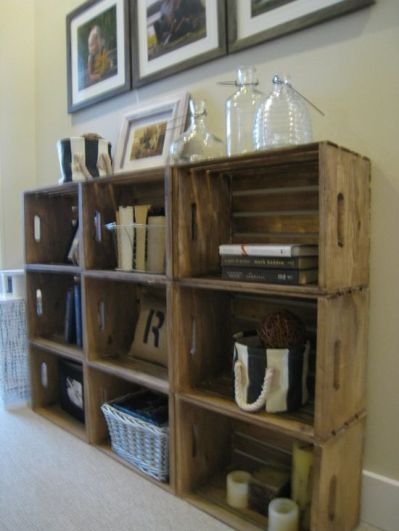 Lovely Pinspiration   DIY Furniture. Storage CratesStorage IdeasWood ...