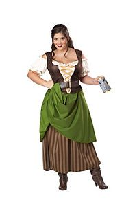 Women's Tavern Maiden Adult Plus Costume