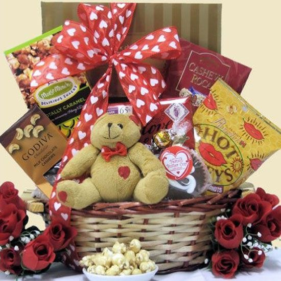 15 amazing valentines day basket ideas 2013 for him her