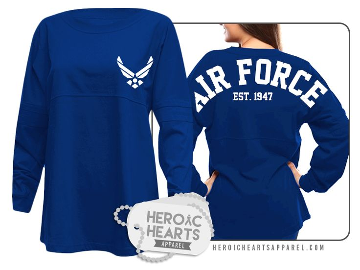 Heroic Hearts Apparel - Air Force Spirit Jersey, $0.00 (http://www.heroicheartsapparel.com/air-force-spirit-jersey/)