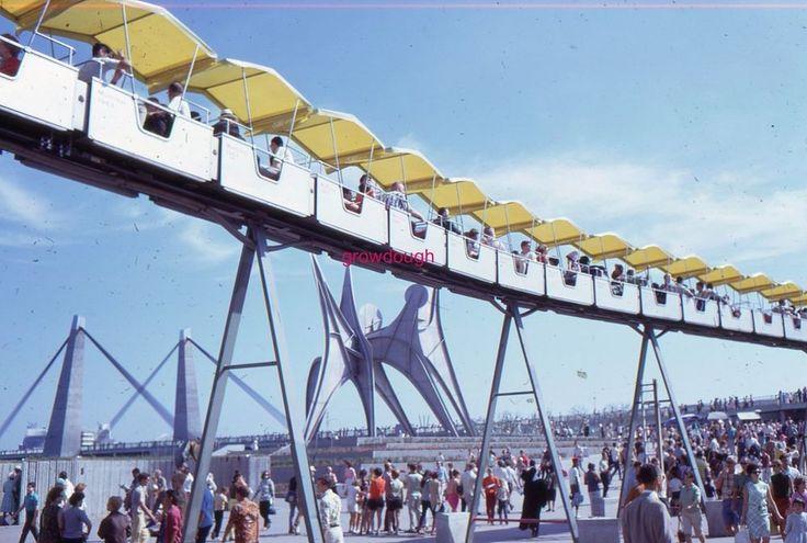 35mm Color Slides Expo 1967 Montreal Canada World's Fair Original