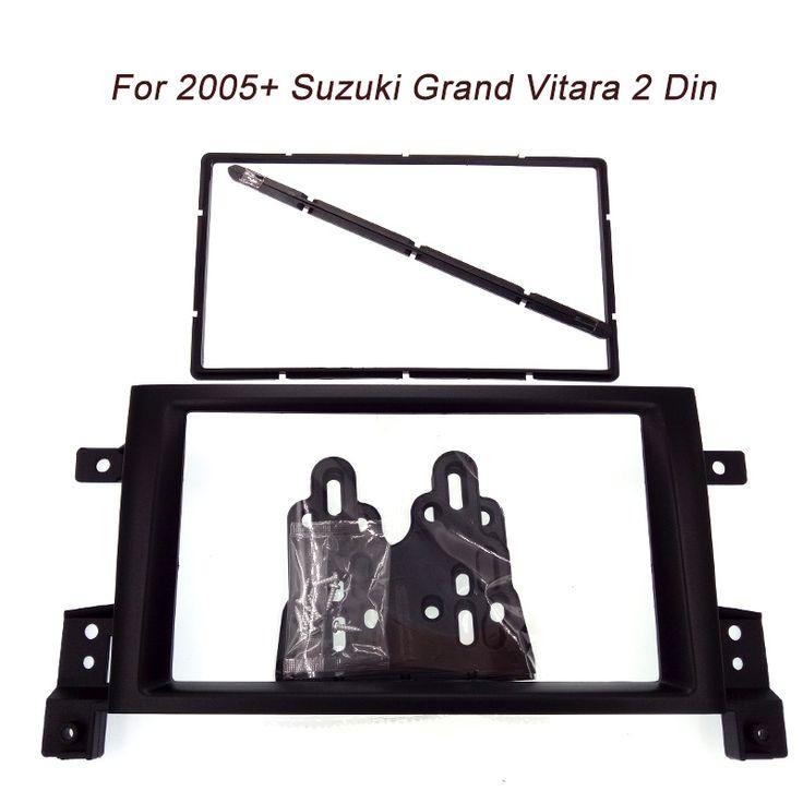 Free shipping new 2DIN Car refitting DVD frame,DVD panel,Dash Kit,Fascia,Radio Frame,Audio frame for SUZUKI GRAND VITARA 05-up
