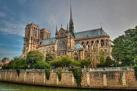 Notre Dame in Paris, FRANCE