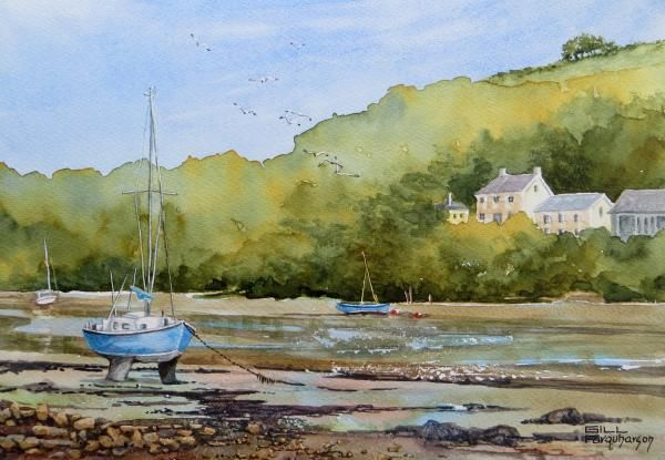 Another lovely watercolour by GillFarqharson
