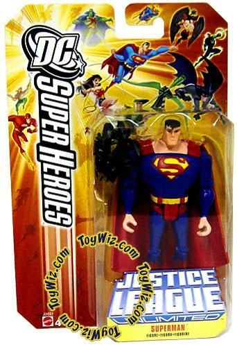 Superman Action Figure Black Mercy Super Heroes 3.75 Inch DC
