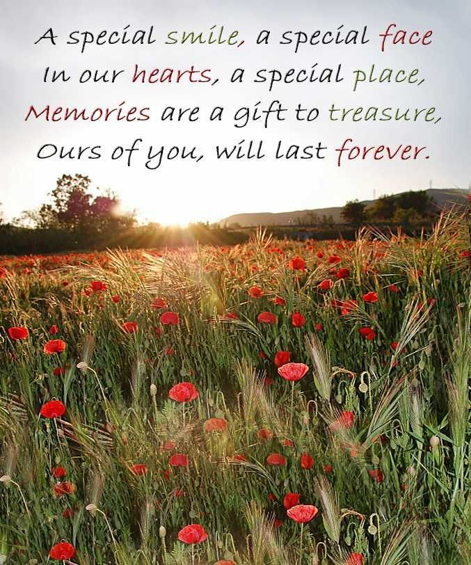 In Loving Memory Sayings   ... Messages - Sympathy Card Wording - In Loving Memory Quotes - Poems: