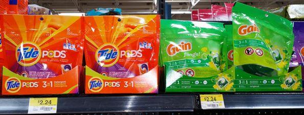 Tide Pods Or Gain Flings Just $0.24 At Walmart!