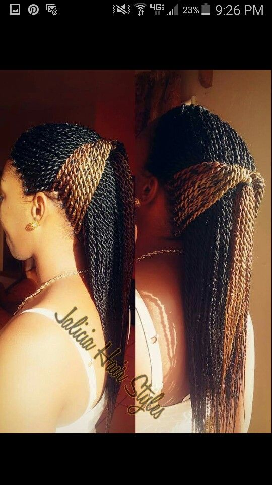 these Senegalese twist are really beautiful!!