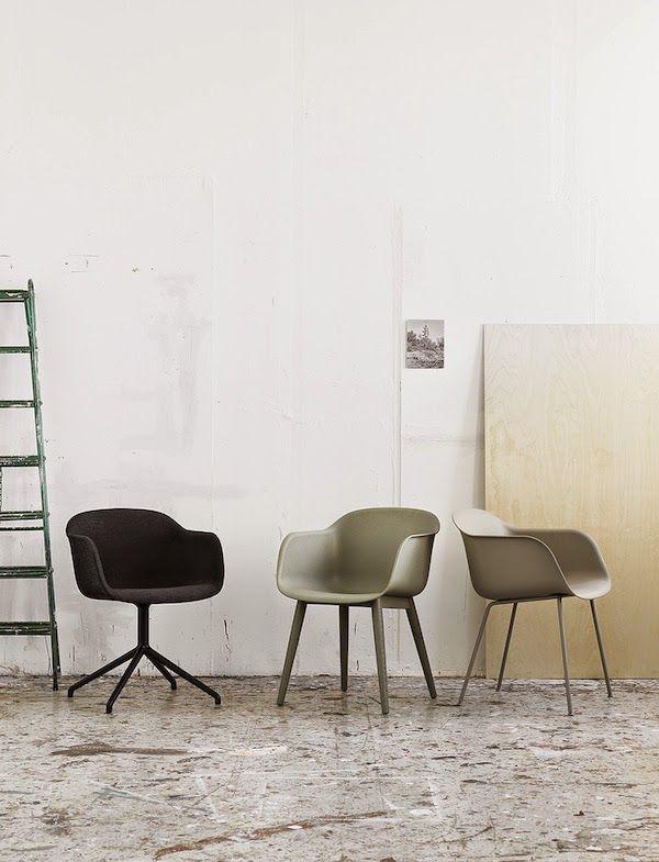 Nieuw van Muuto: De Fiber stoel. Binnenkort in de showroom van www.dehuisgenoten.com