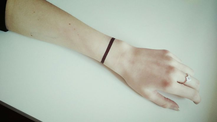 Simplicity is life ❤  #ink #tattoo #line #simple #simplicity # #inked #women #hand