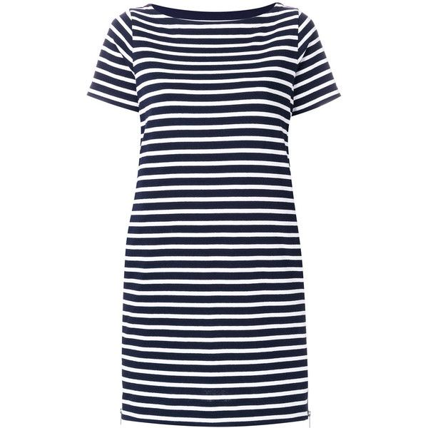 5a9d3fbd8014 Sacai Cotton Striped Dress ( 665) ❤ liked on Polyvore featuring dresses