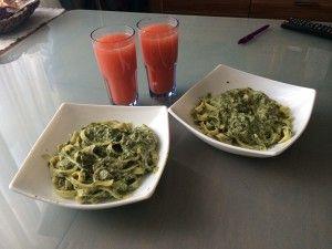 Tuna Spinach Pasta Recipe