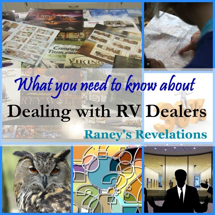 What you need to know about dealing with RV dealers | www.raneysrevelations.com