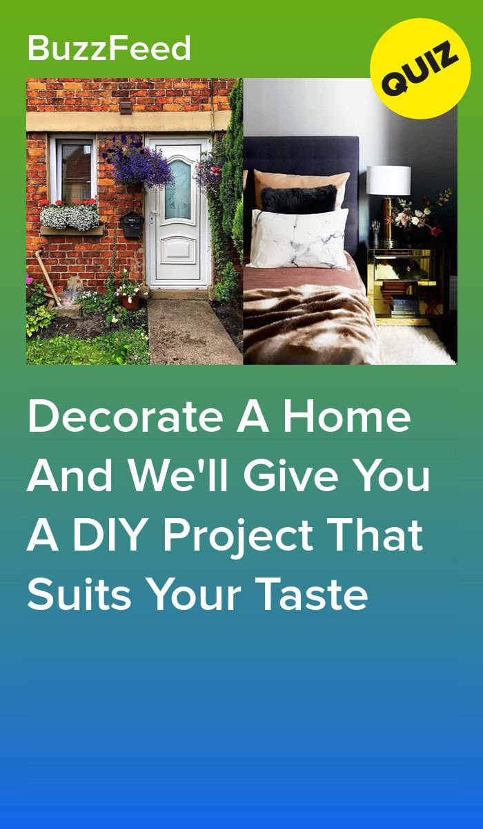 Design Your Dream Home And We Ll Give You A Diy Project To Match