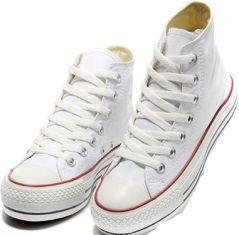 comment nettoyer des chaussures en toile blanche