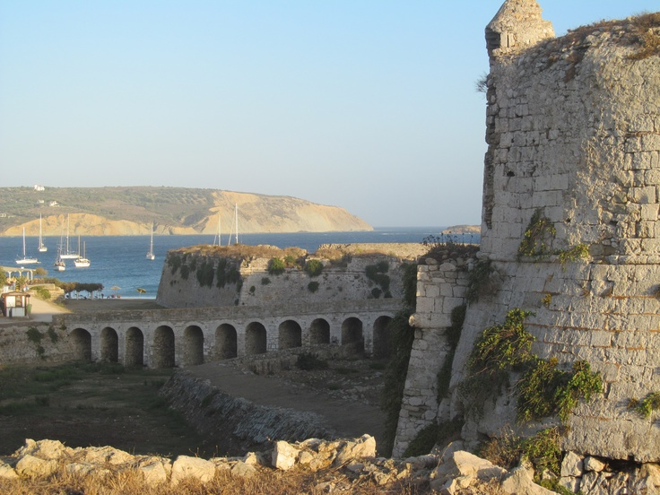 Castle in Methoni, Greece