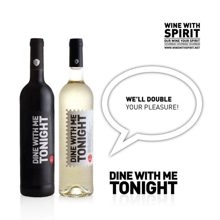 WE'LL DOUBLE YOUR PLEASURE!  www.winewithspirit.net