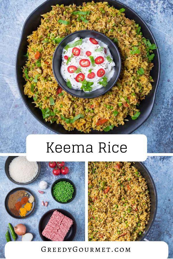 Keema Rice Recipe Lamb Recipes Keema Recipes Indian Food Recipes