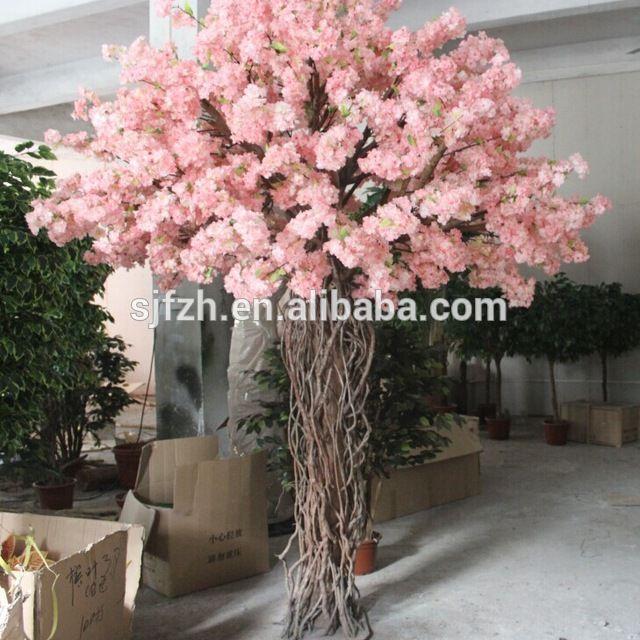 Source Wedding decorative 2.2m pink indoor artific…
