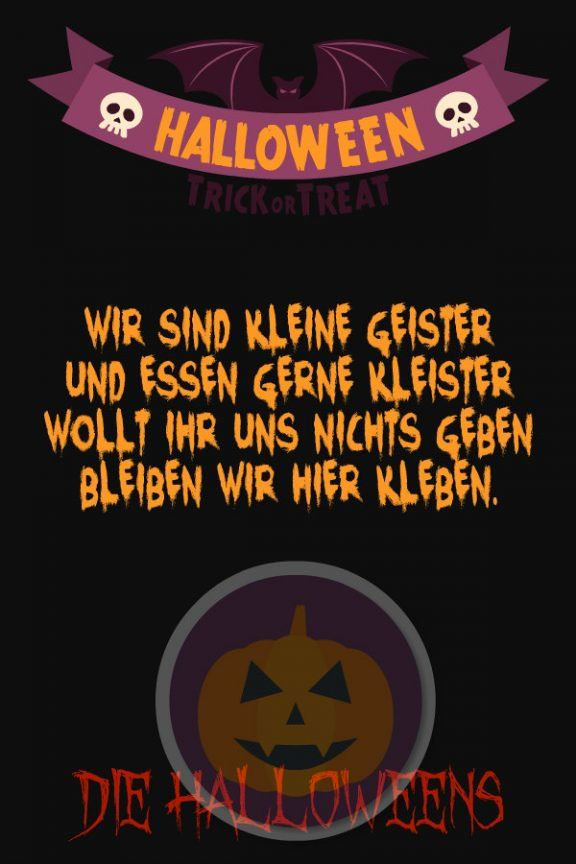 Lustige Halloween Sprüche Für Kinder Und Erwachsene Das Beste Der