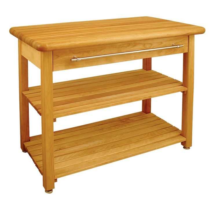 Shop Catskill Craftsmen Brown Farmhouse Kitchen Island At: 17 Best Images About Butcher Block Tables On Pinterest