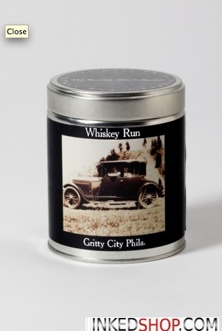 """Whiskey Run"" Soy Candle"