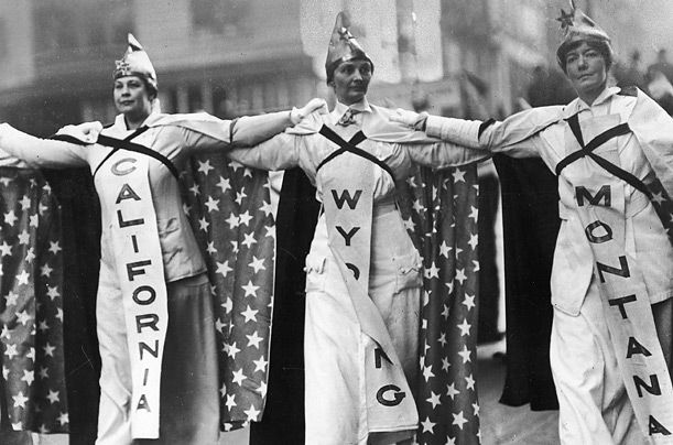 Essays over the womans suffrage movement