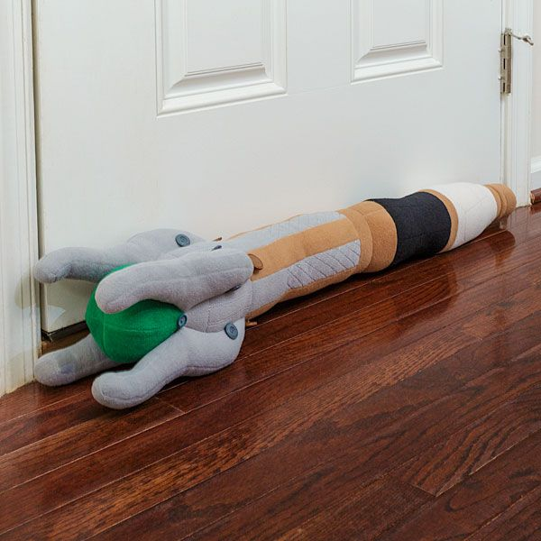 Sonic Screwdriver Draft Excluder