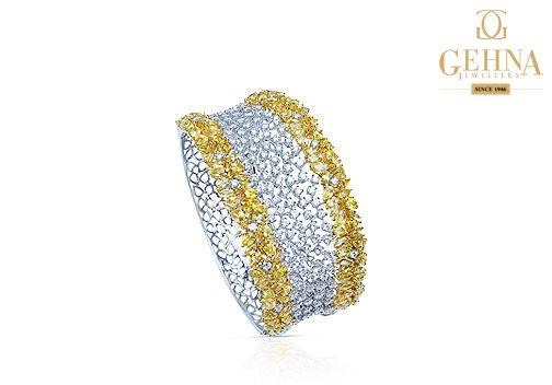 Make heads turn with this gorgeous diamond bangle.