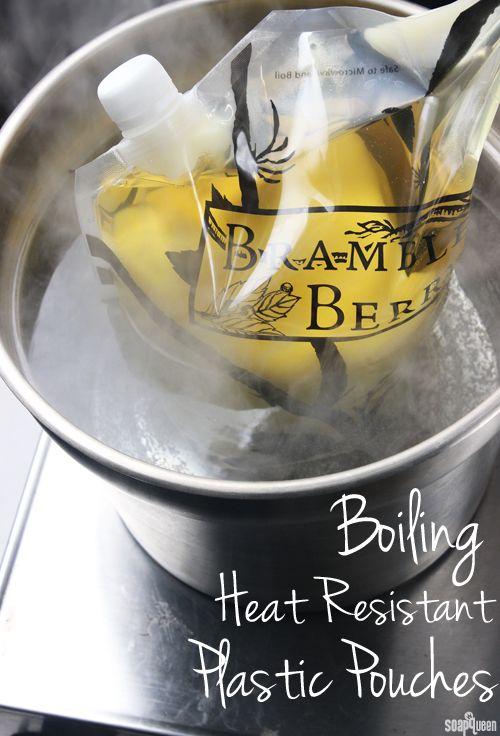 How to Boil Heat Resistant Plastic Pouches | Soap Queen
