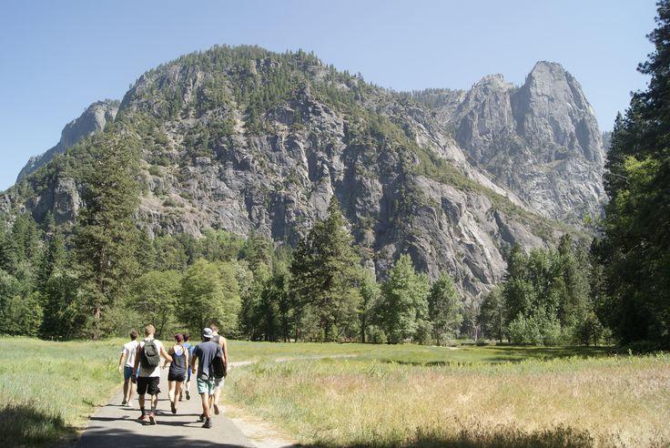 Setting Off, Yosemite, CA