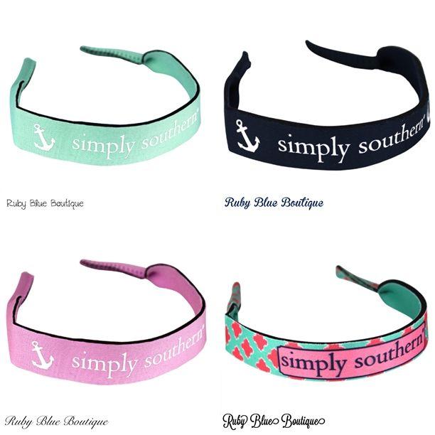 Simply Southern Sunglass Straps - $9.99 ShopRubyBlue.com