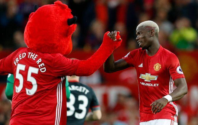 Man Utd: Pogba titulaire à Old Trafford