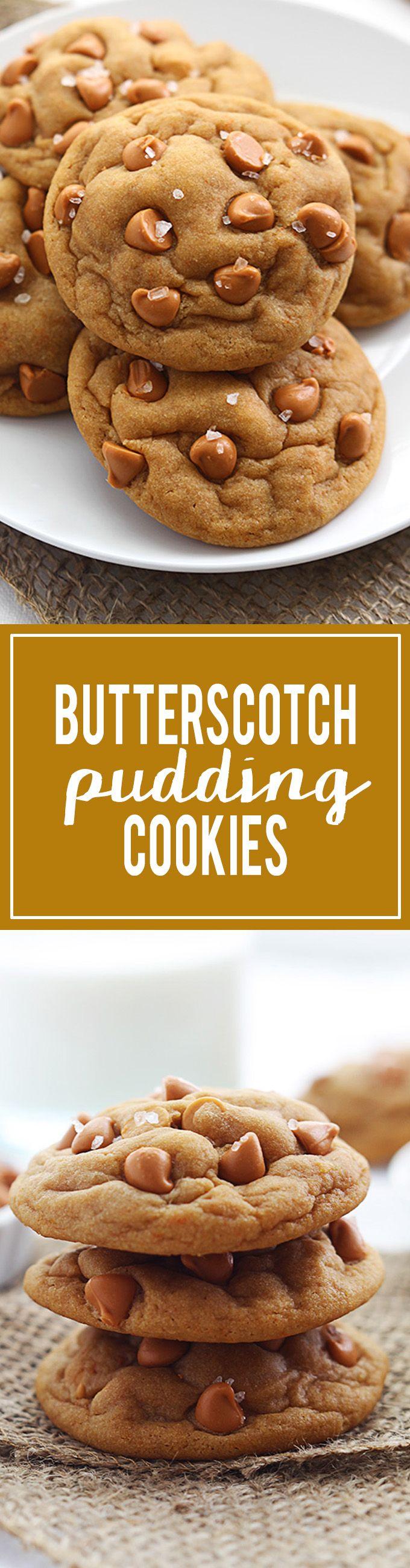 Butterscotch Pudding Cookies | Creme de la Crumb
