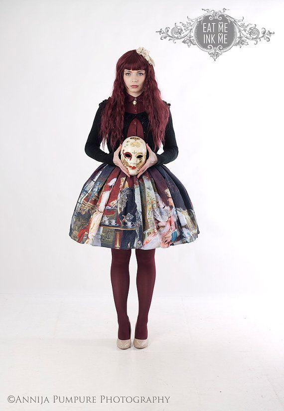 gothic victorian mori girl