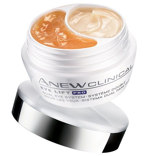 DON'T leave home without this!   See more lifted eyes and visibly reduced dark circles. Believe your eyes! See a dramatic lift in just 1 week. Dual eye system includes: UPPER EYE & BROW BONE GEL: instantly, eyes appear tighter and lifted. UNDER EYE CREAM: instantly, undereye shadows are visibly reduced.