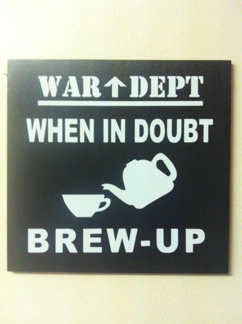 Tea art. Again.