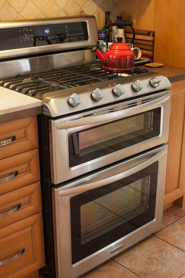 Kitchenaid Dual Oven Gas Range